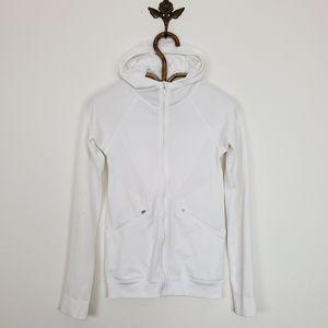 Lululemon Ventilate Hooded Jacket White Size 4